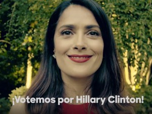 A Few Words From Salma Hayek On Getting Out The Vote!
