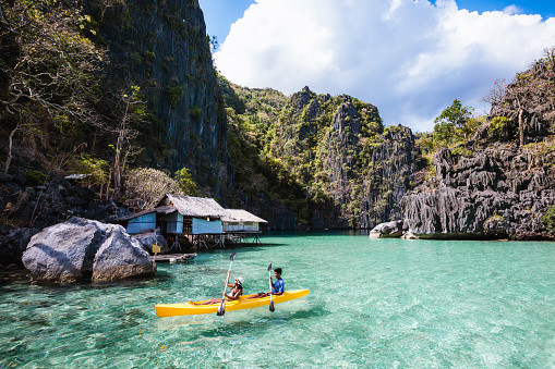 coron island kayaking coron tour package
