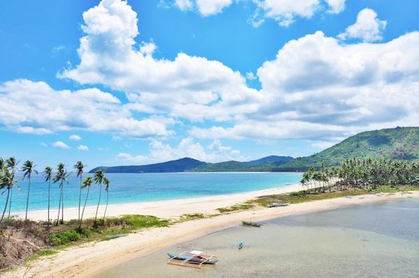 El Nido Nacpan and Calitang Twin Beach Palawan 1