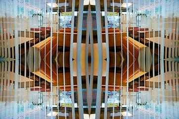 digital collage, invert, duplicate, duplication, photograph, photo, hackney, parkdale, kensington market, butcher rye lane, estate bethnal green