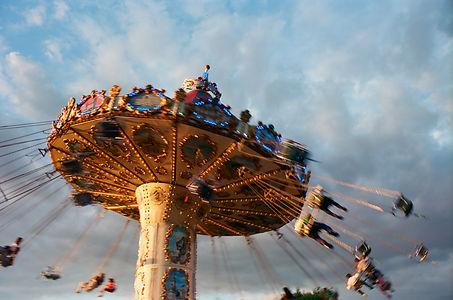 Fun Fair in Burgess Park