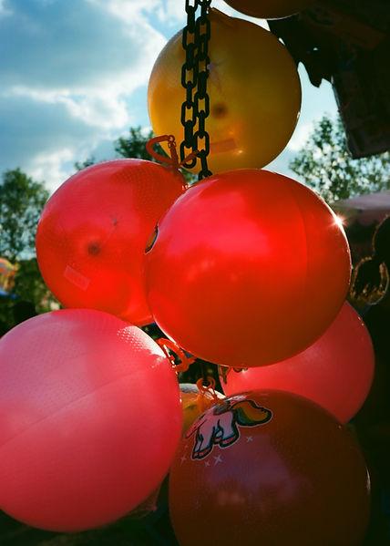 balloons, balloon, fun fair