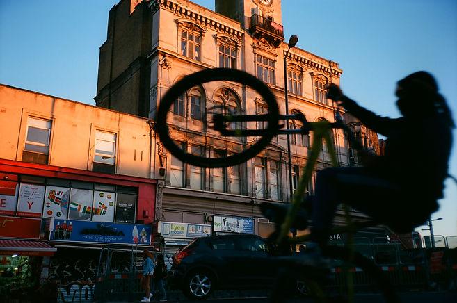 BMX silhouette, Peckham