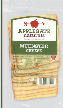 Applegate Natural Muenster Kase Cheese