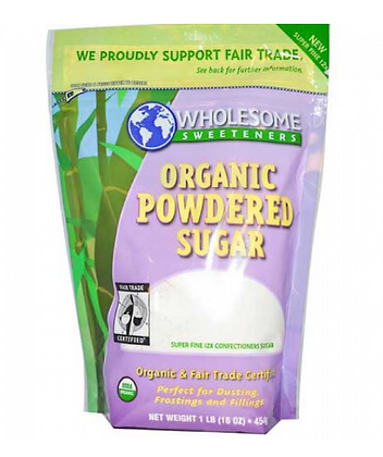 Wholesweet Organic Sugar Powder lb