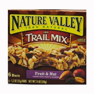 Trial Mix (Fruit and nut) Granola Bars (6)