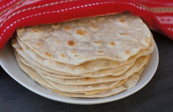 Flour Tortillas Soft Taco Size (12)
