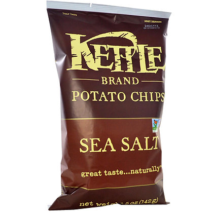 Kettle Chips Sea Salt 2lbs