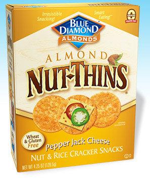 Blue Diamond Nut Thins Pepper Jack 4.5 Oz