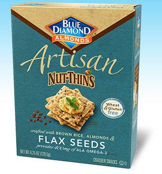Blue Diamond Gluten Free Artisan Nut-Thin FlaxSeed