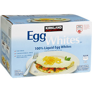Egg Whites Kirkland 6/16 oz