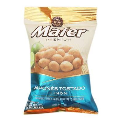 Japanese Mafer premium toasted peanuts with lemon