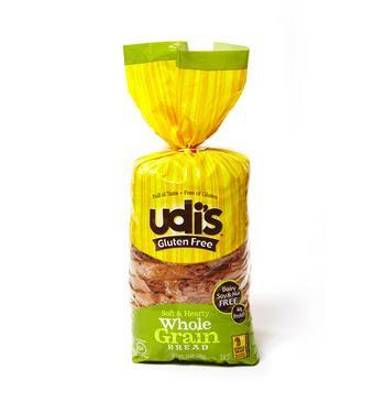 Udi's Gluten Free Whole Grain Bread 12oz