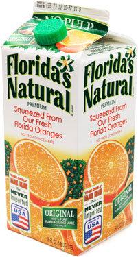 Florida Orange Juice 1.75lt
