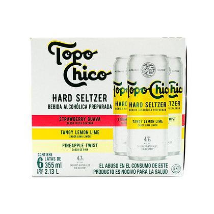 Hard Seltzer Mix Topo Chico 6 Pack 355 ml