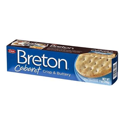 Breton Cabaret Crisp & Buttery Crackers