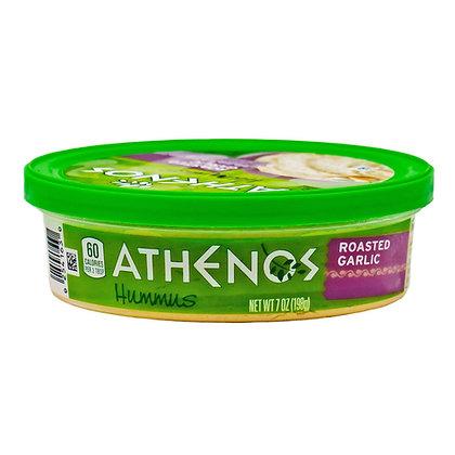 Athenos Hummus Roasted Garlic 7 oz