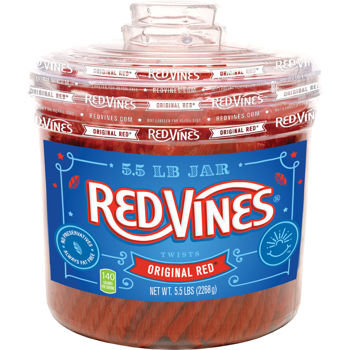 Red Vines Original Red Licorice 5.5lbs