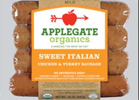 Applegate Organic Sweet Italian Sausage