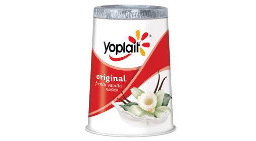 Yoplait Original Yogurt Plain 145 gr (4 pack)