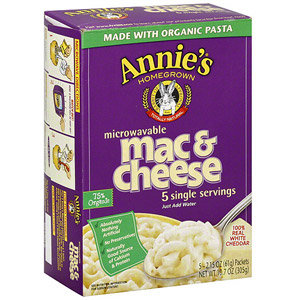 Annie's Microwavable Mac & Cheese 6oz