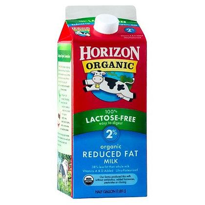 Horizon Organic Milk 2% Lactose Free 64 Oz