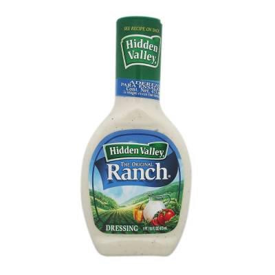 Ranch Dressing Hidden Valley 473 ml