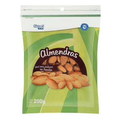 Almonds Great Value 200 g