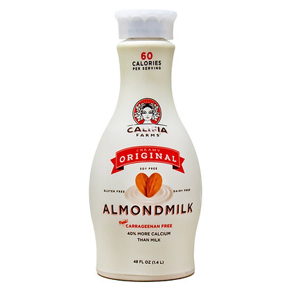Califia Farms Almond Milk Original Dairy Free 48 oz