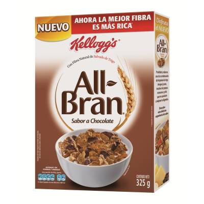 All Bran chocolate flavor  325 g