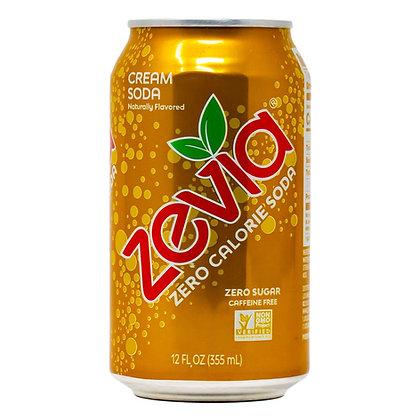 Zevia Cream Soda Caffeine Free 12 oz