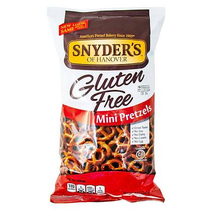 Snyders Of Hanover Pretzels Mini Gluten Free 8 oz