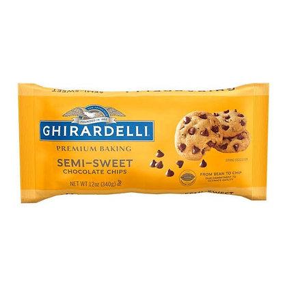 Ghirardelli Chocolate Chips Semi Sweet 12 oz
