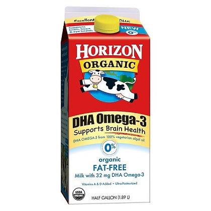 Horizon Organic Fat-Free Milk 0% 64oz
