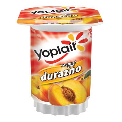 Yoplait Original Yogurt Peach 145 gr (4 pack)