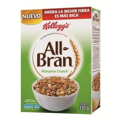 All Bran apple crunch  330 g