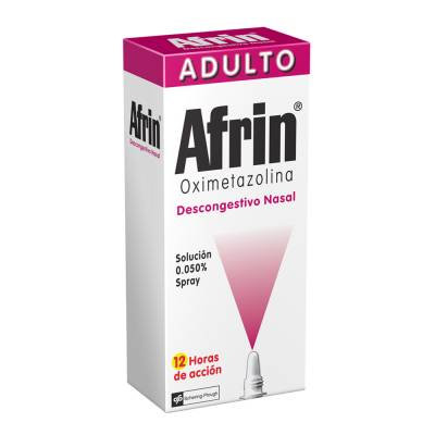 Afrin nasal spray decongestant adult 20 ml