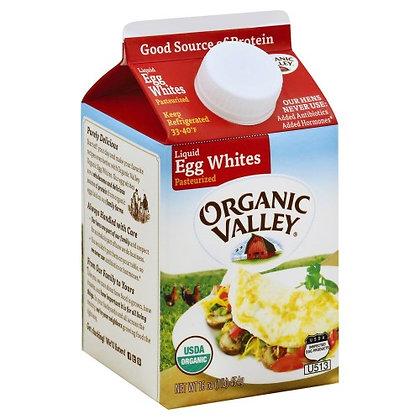 Organic Valley Pasteurized Eggs White 16oz
