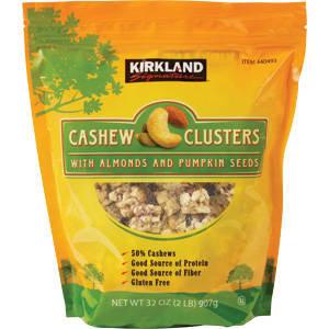 Kirkland Cashew Clusters 2 lb