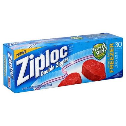Ziploc Gal Freezer Bags