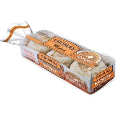 Muffins Thomas natural 6 pack