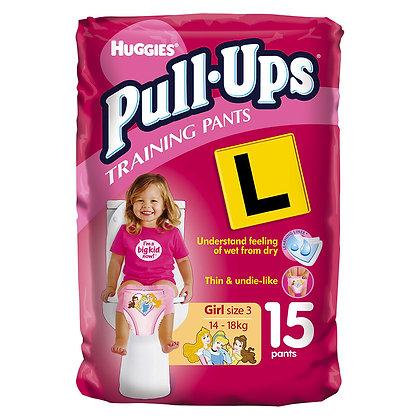 Pull-Ups Girls 2-3yr