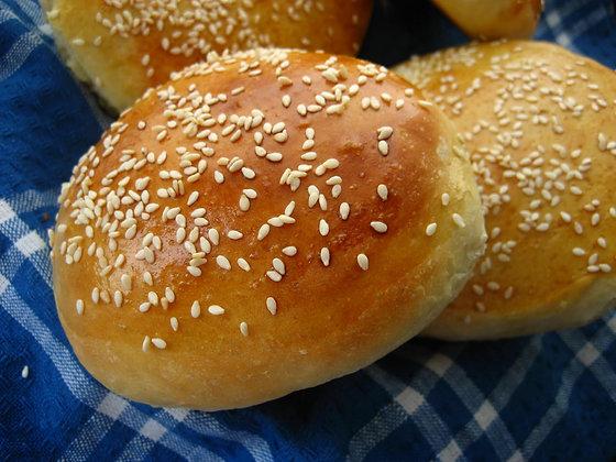 Hamburger Buns 18 pack