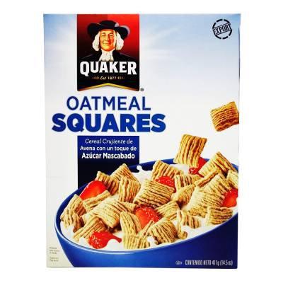 Quaker Oatmeal Squares (with sugar) 411 g
