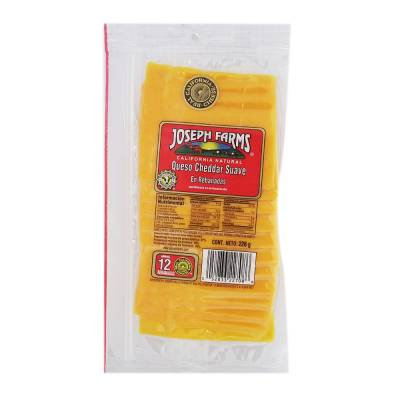 Cheddar Joseph Farms 12 slices 226