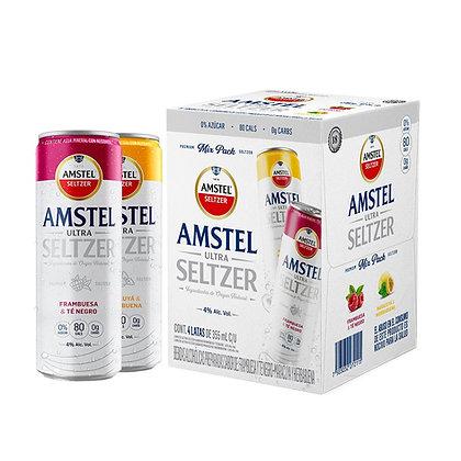 Hard Seltzer Amstel Ultra 12 pack 355 ml