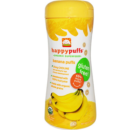 Happy Puffs Gluten Free (Banana)