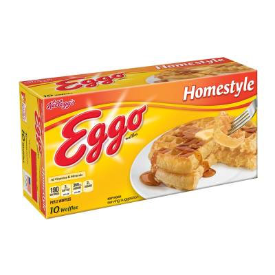 Eggo Home style waffles Costco Size 72 pz