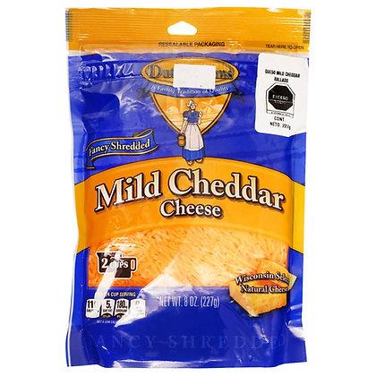 Mild Cheddar Shredded Cheese 227 gr