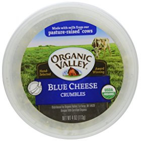 Organic Valley Blue Cheese Crumbles 4 Oz